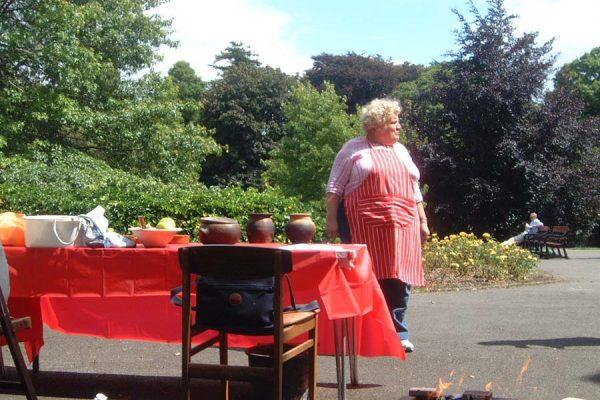 Roman Cookery Demo 002
