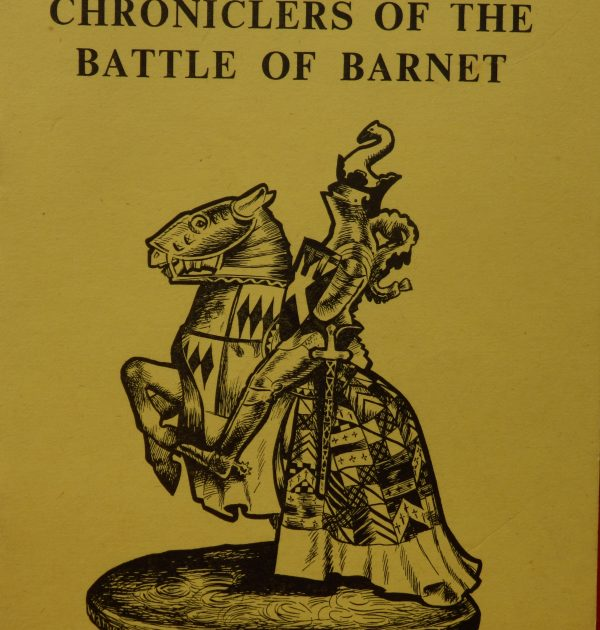 Chroniclers of the Battle of barnet